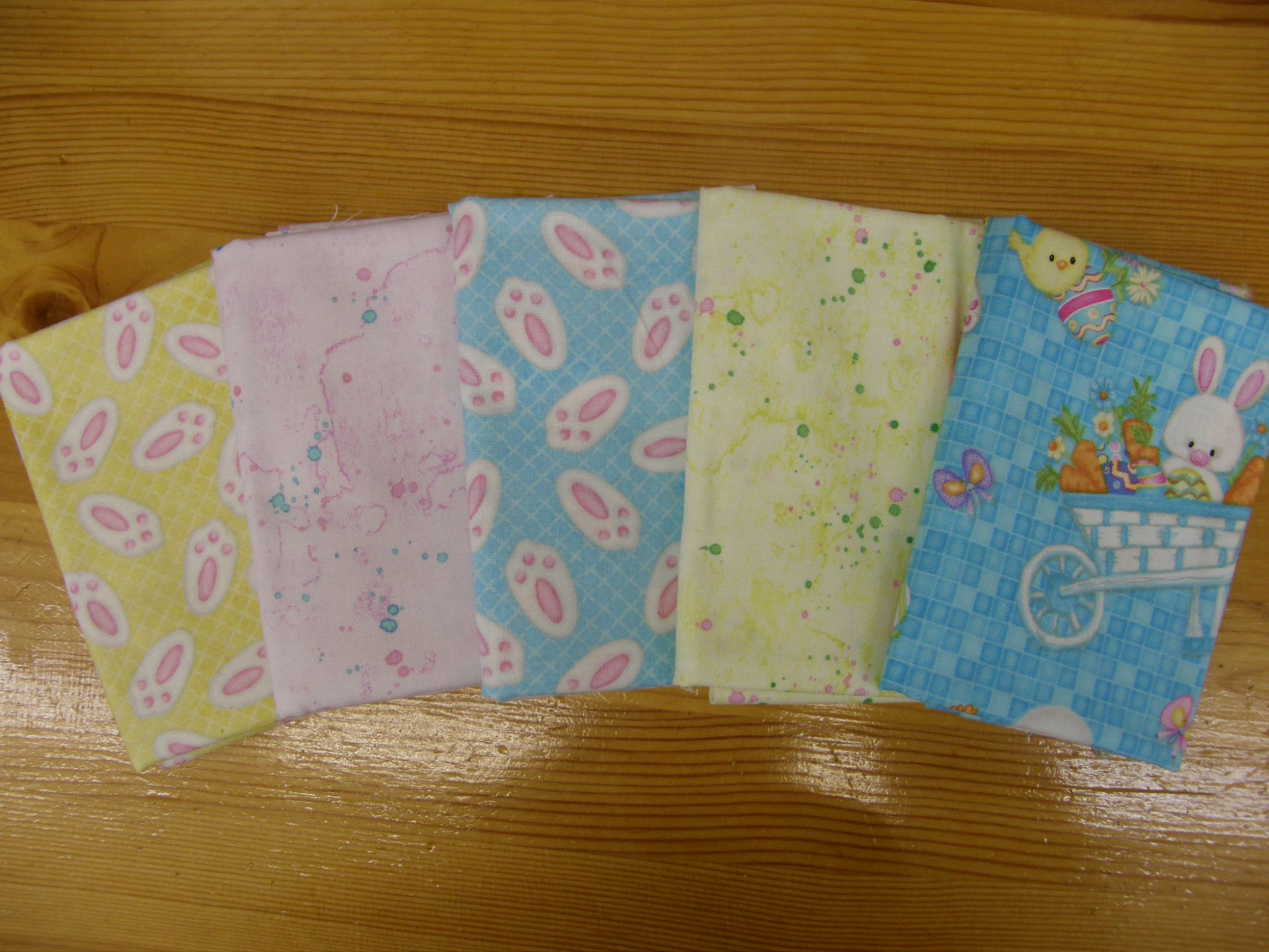 Easter Fat Quarter Bundle of 5