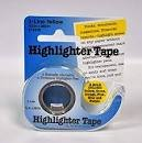 Highlighter Tape 13475 yellow