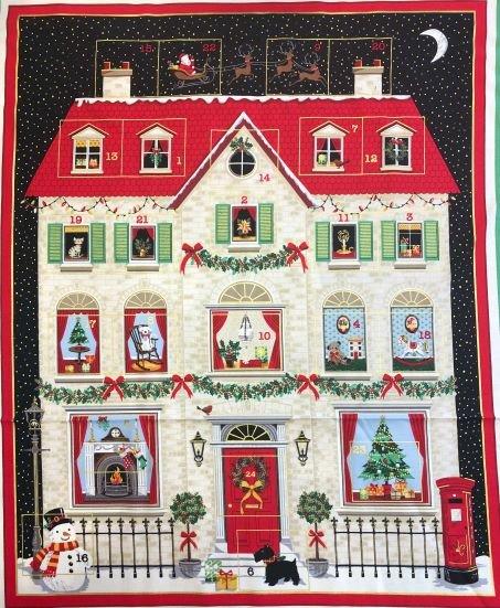 House Advent Calendar Panel 2133