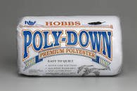 Batting  100% Poly 81in x 96in Full