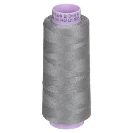 Mettler Silk Finish Color 0413 Titan Gray 2000yd Cone