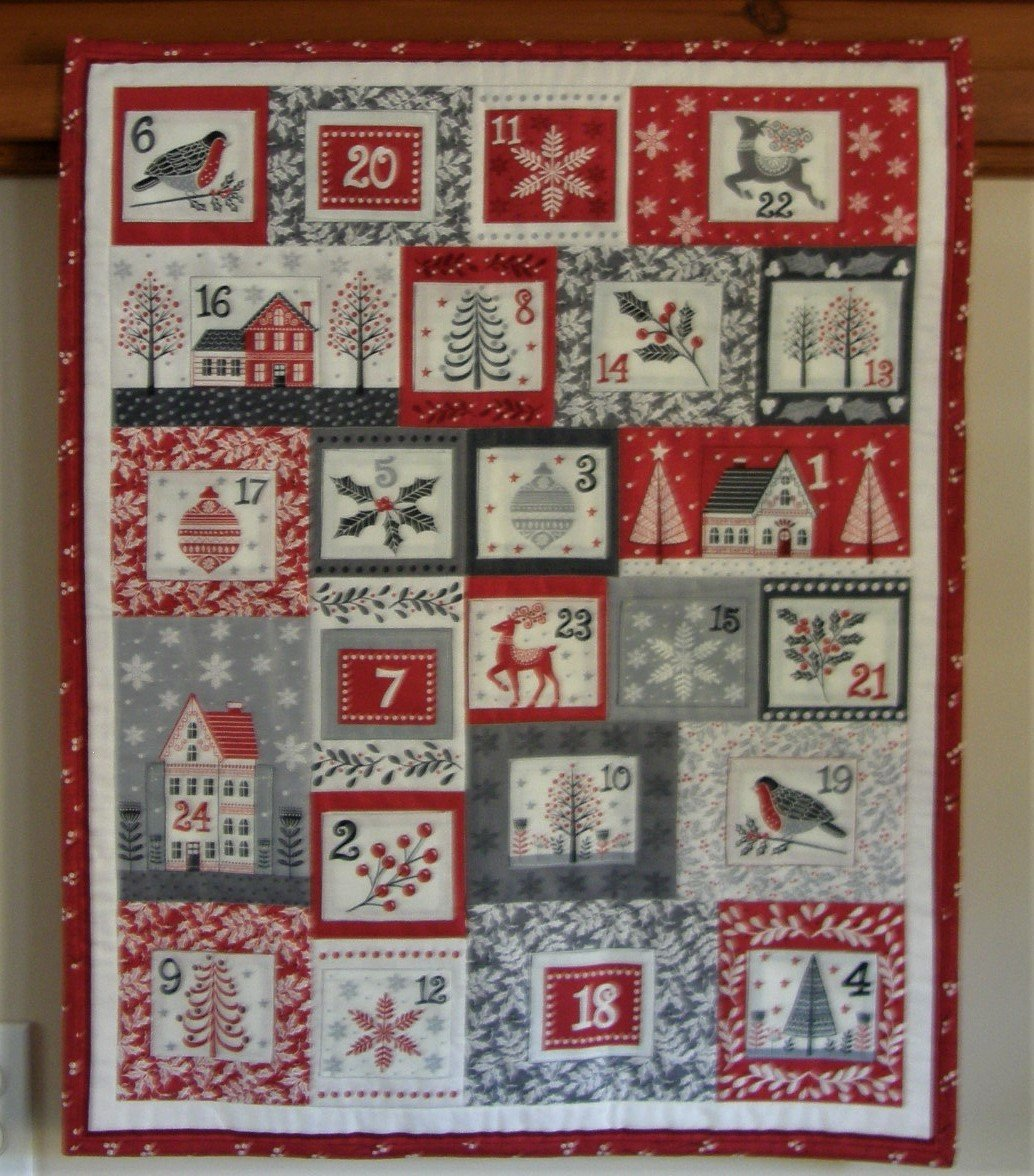 Finished Scandi Advent Calendar