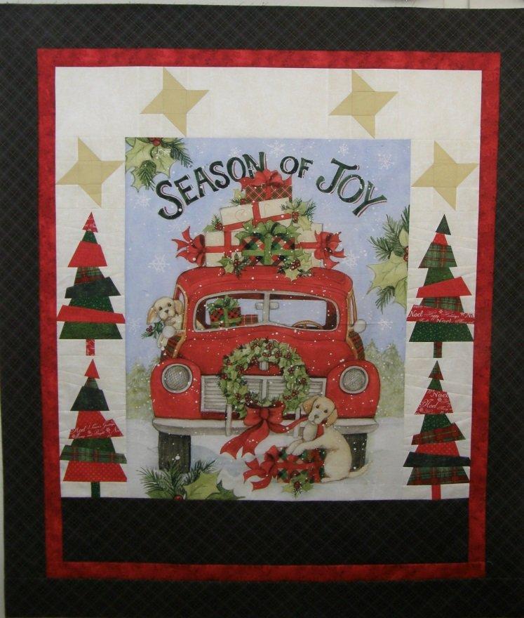 Season of Joy Finished quilt