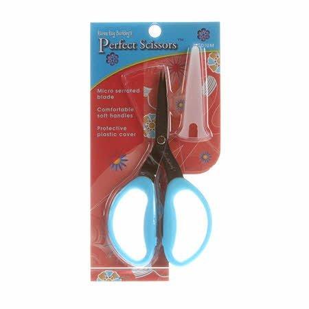 Perfect Scissors Karen Kay Buckley 6 inch Medium Blue