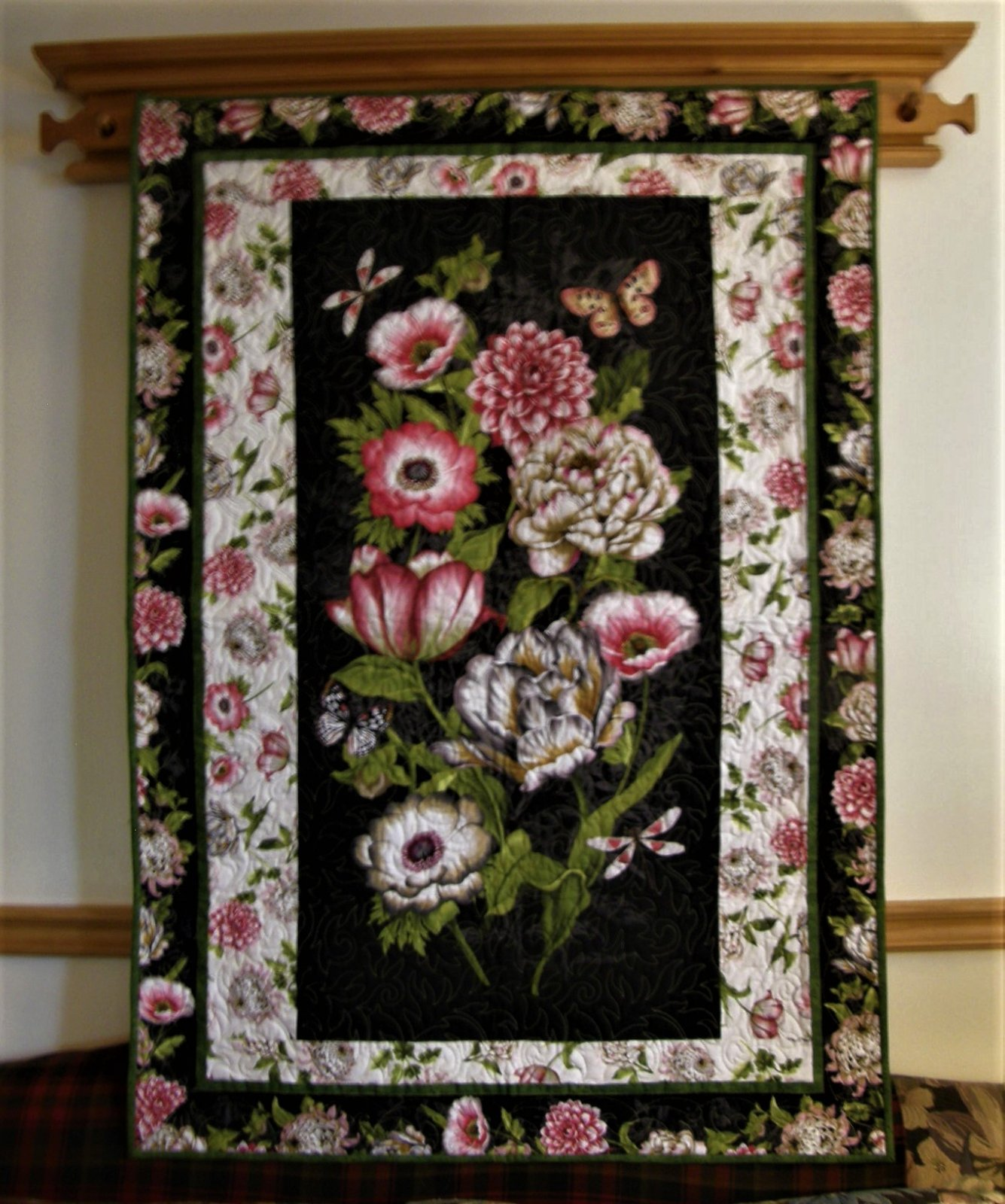 Tivoli Garden Finished Wall hanging