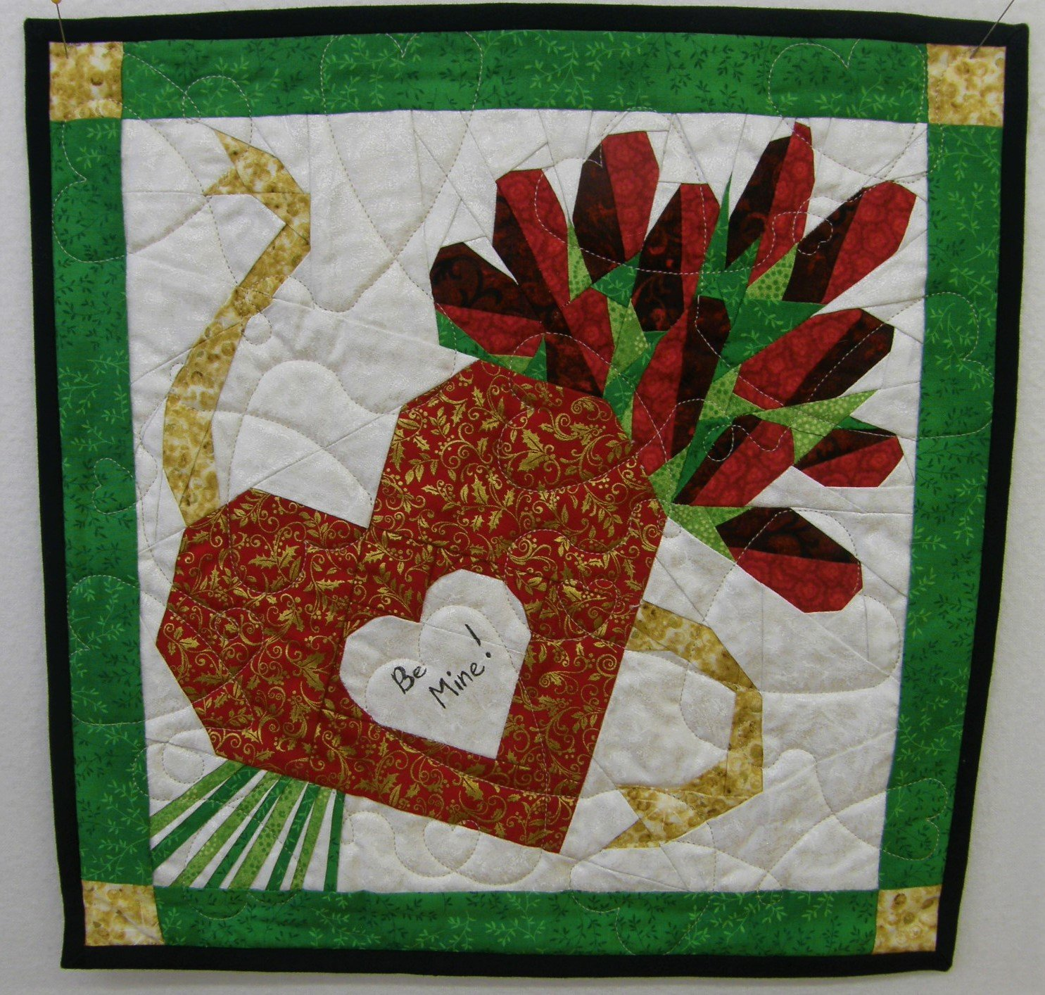 Valentine Heart Finished Wall hanging