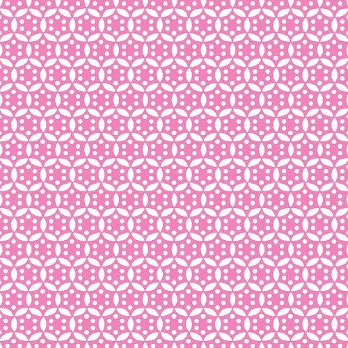 Vintage 30's Starburst Pink 120 12621