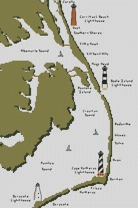 OBX Map 10x15 Graph