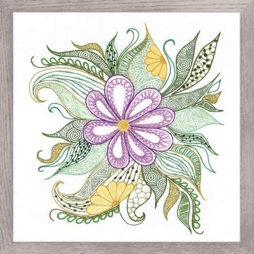 Lovely Flower by Riolis Embroidery Kit