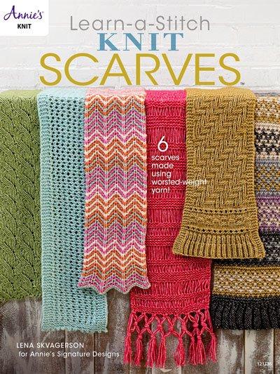Learn-a-Stitch Knit Scarves