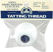 DMC Tatting Thread #80 - white