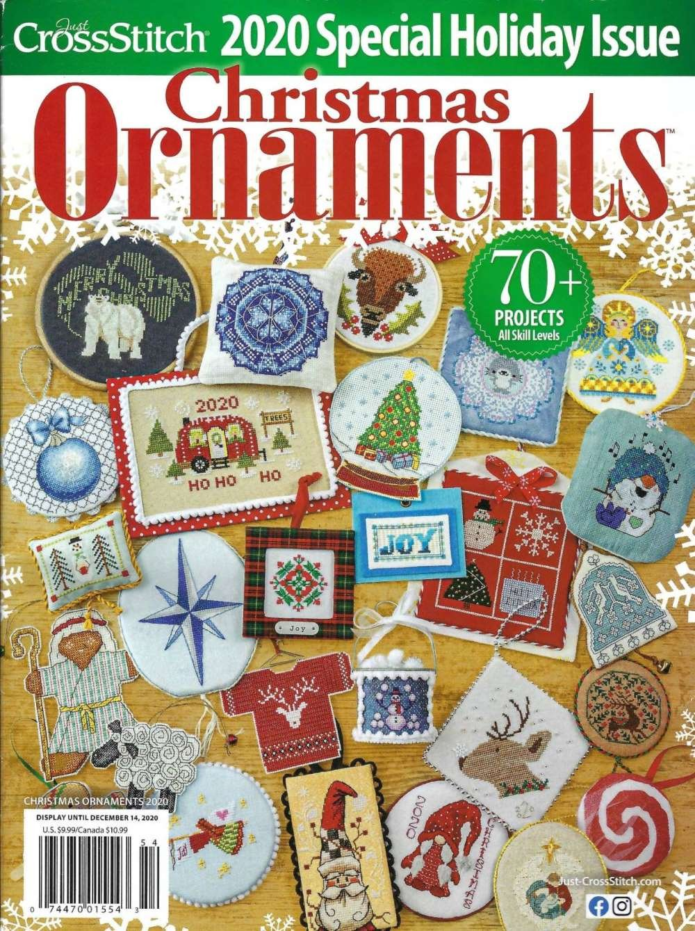 Just CrossStitch Christmas Ornaments 2020 Special Collectors Issue