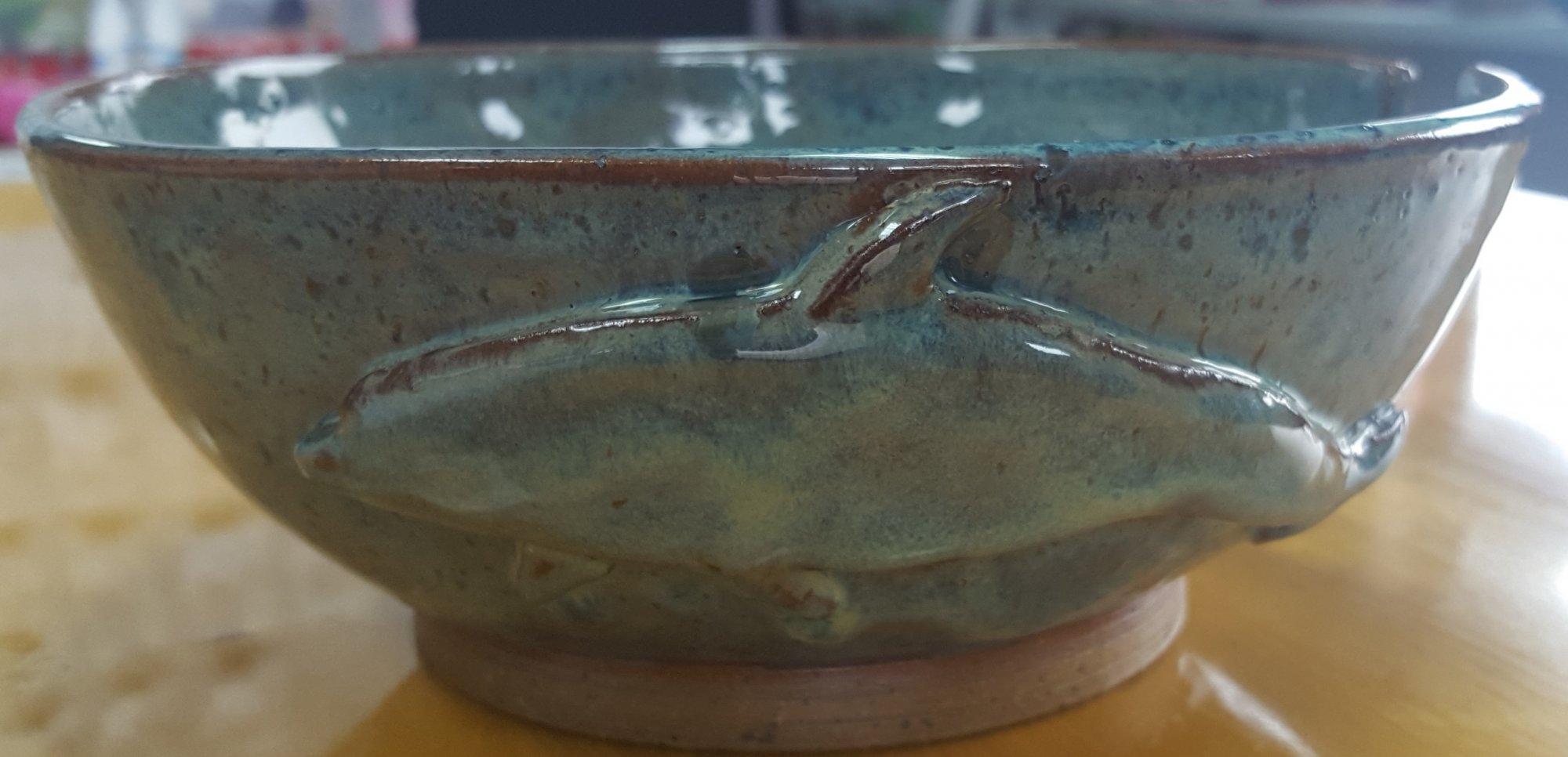 Dolphin Yarn Bowl