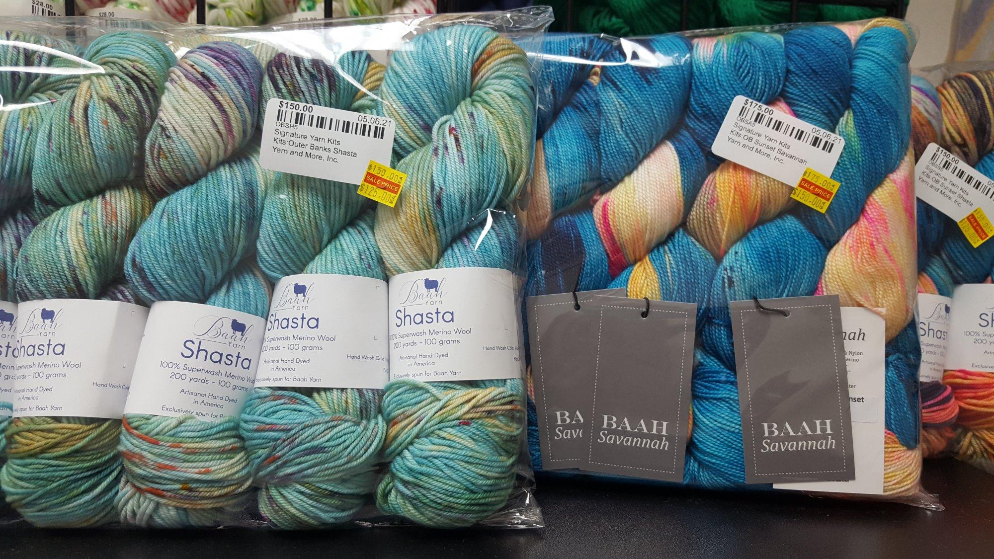 Signature Yarn Kits