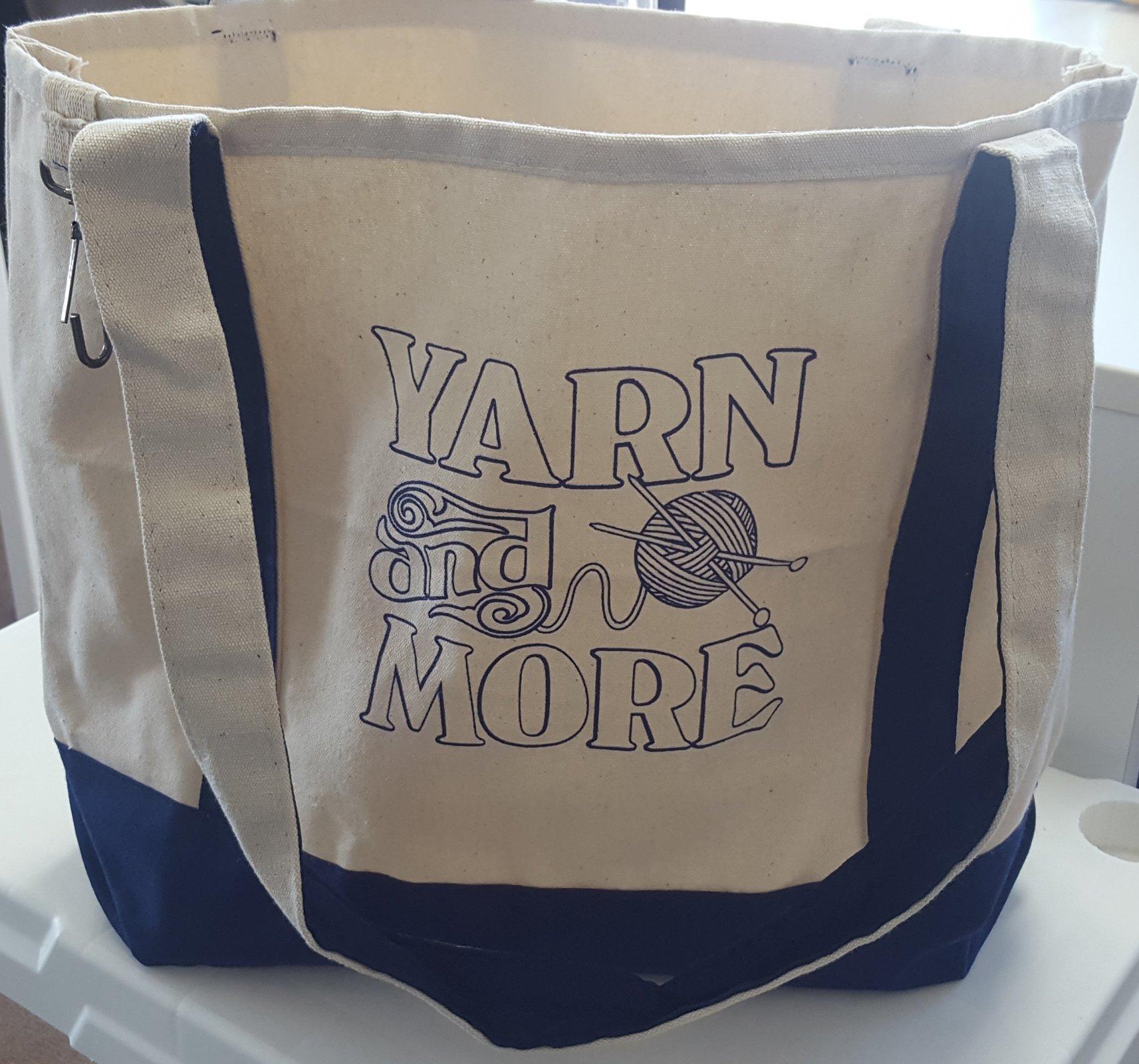 Yarn and More Tote Bag