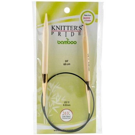 Knitter's Pride Bamboo Fixed Circular Needles 24