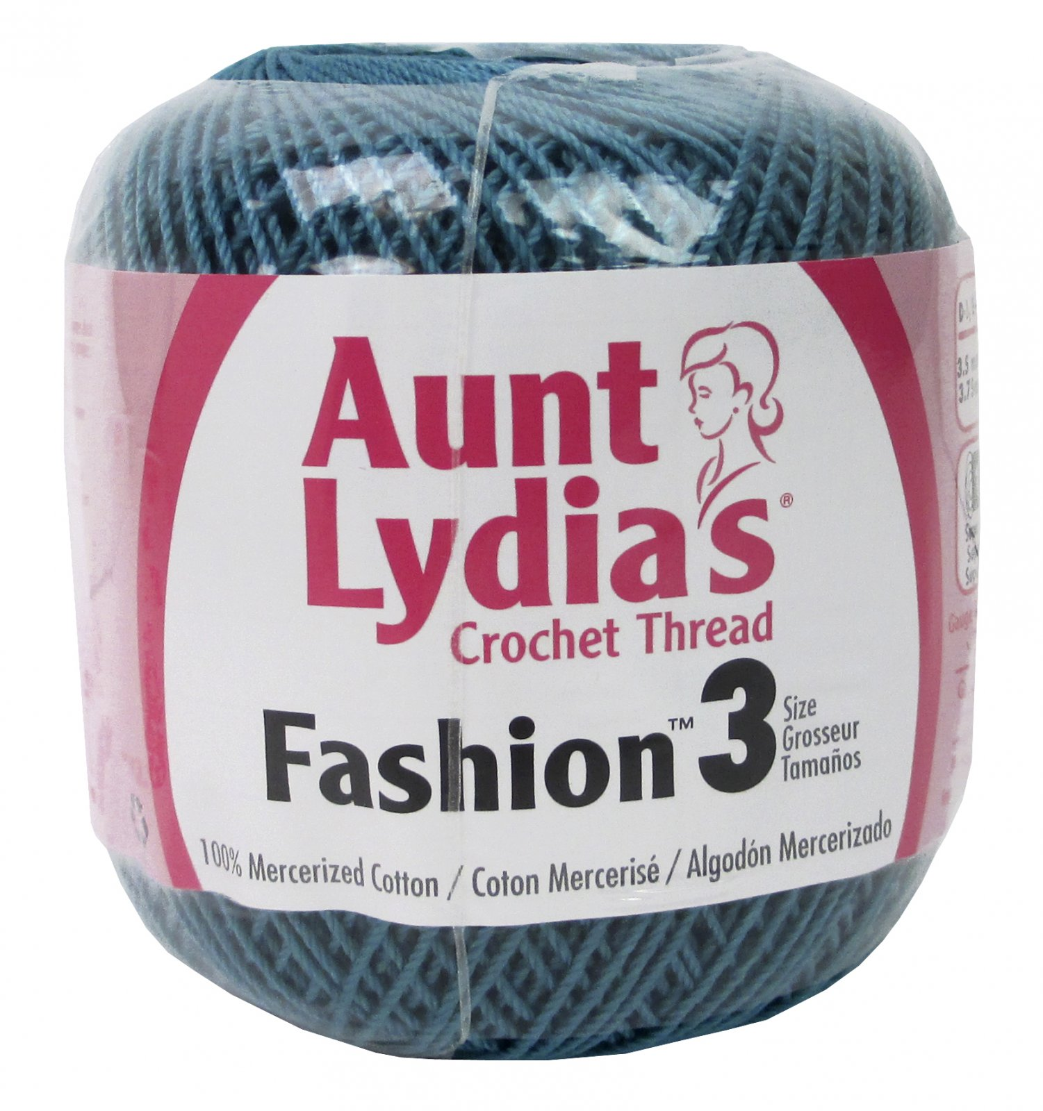 Aunt Lydia's Crochet Thread - Warm teal