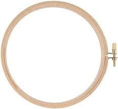 Darice 6 Round Wood Embroidery Hoop