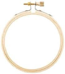 Darice 3 Round Wood Embroidery Hoop
