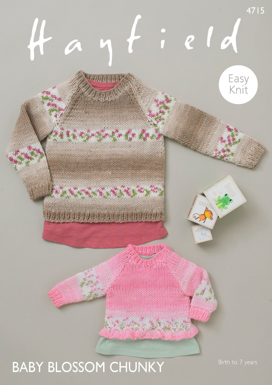Blossom Chunky pattern #4715