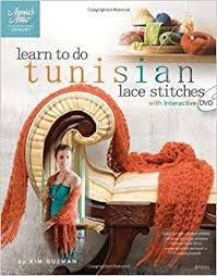 Tunisian Lace Stitches with interactive DVD
