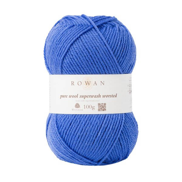 Pure Wool Worsted - Periwinkle