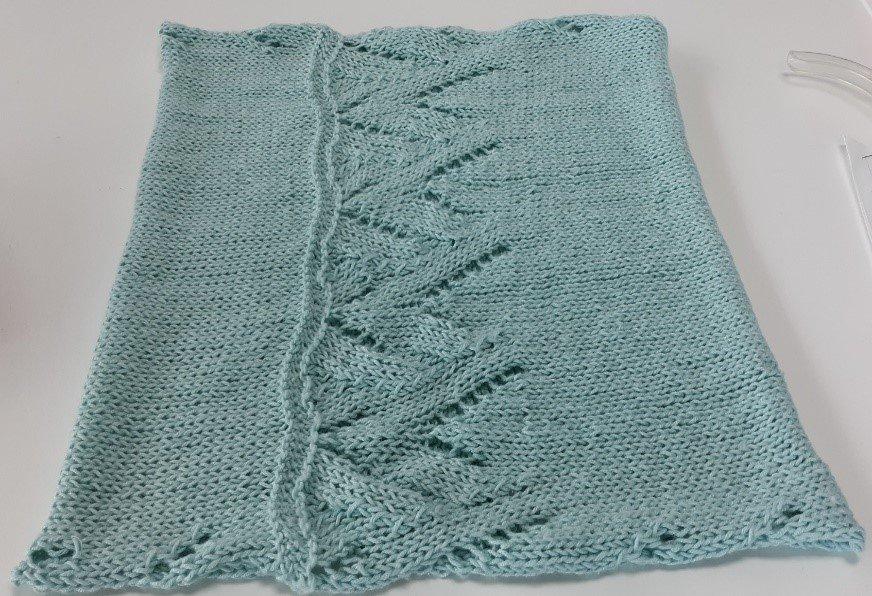 Bamboo Pop Lace Cowl - Knitting - PDF Pattern - FREE
