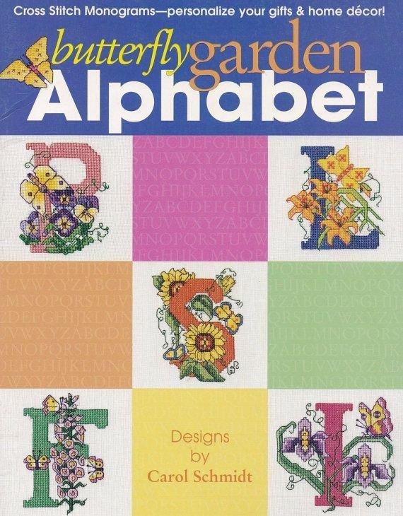 Butterfly Garden Alphabet CCX Patterns