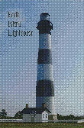 Bodie Island Lighthouse Kit 10x15