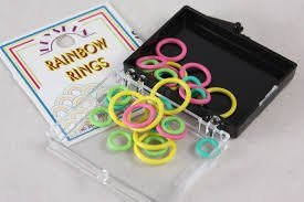 Bryson Rainbow Ring Markers