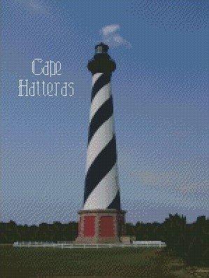 Cape Hatteras Lighthouse Kit 10x15
