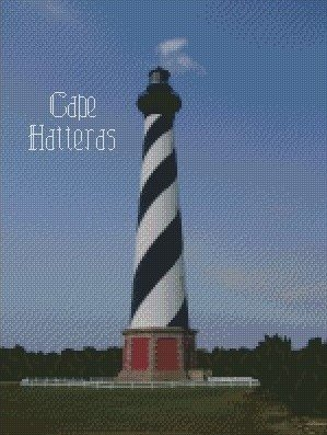 Cape Hatteras Graph 10x15