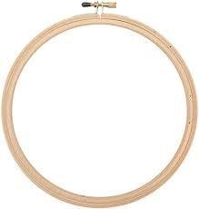 Wood Hoop Emb 8