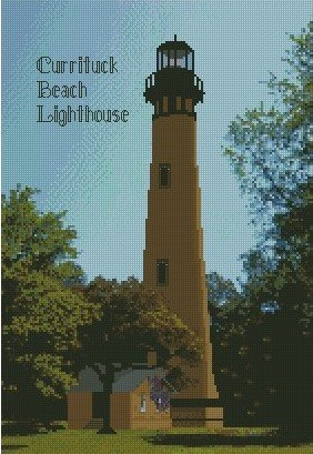 Currituck Beach Lighthouse 10x15 Kit