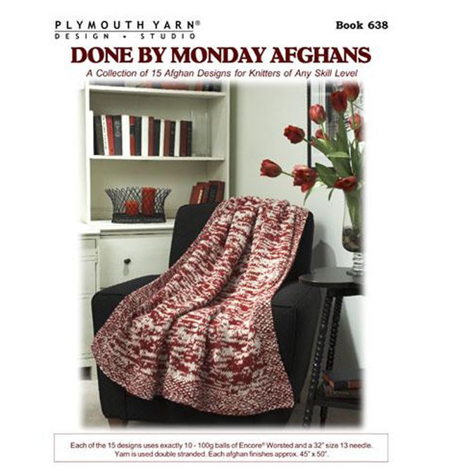 Done by Monday Afghans - Encore Worsted