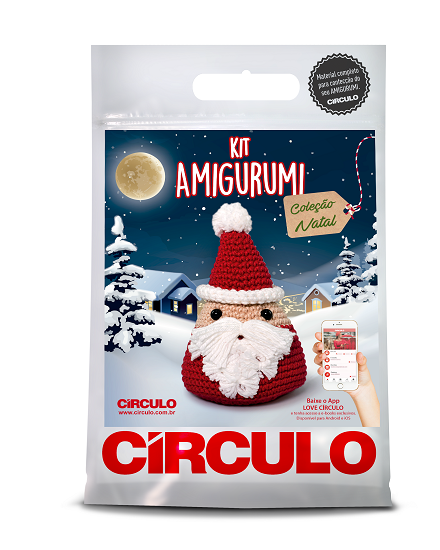 Circulo Cotton Amigurumi Kit - Santa