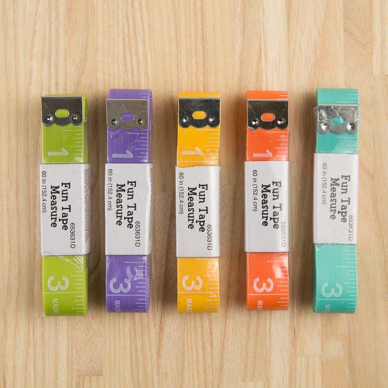 Fun Tape Measure - Asst Colors