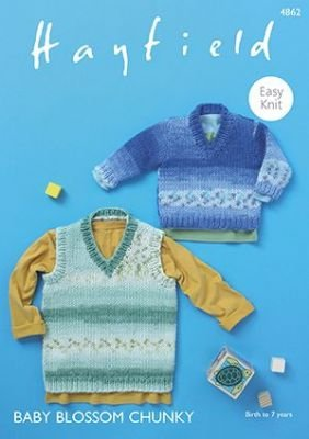 Baby Blossom Chunky Sweater Pattern