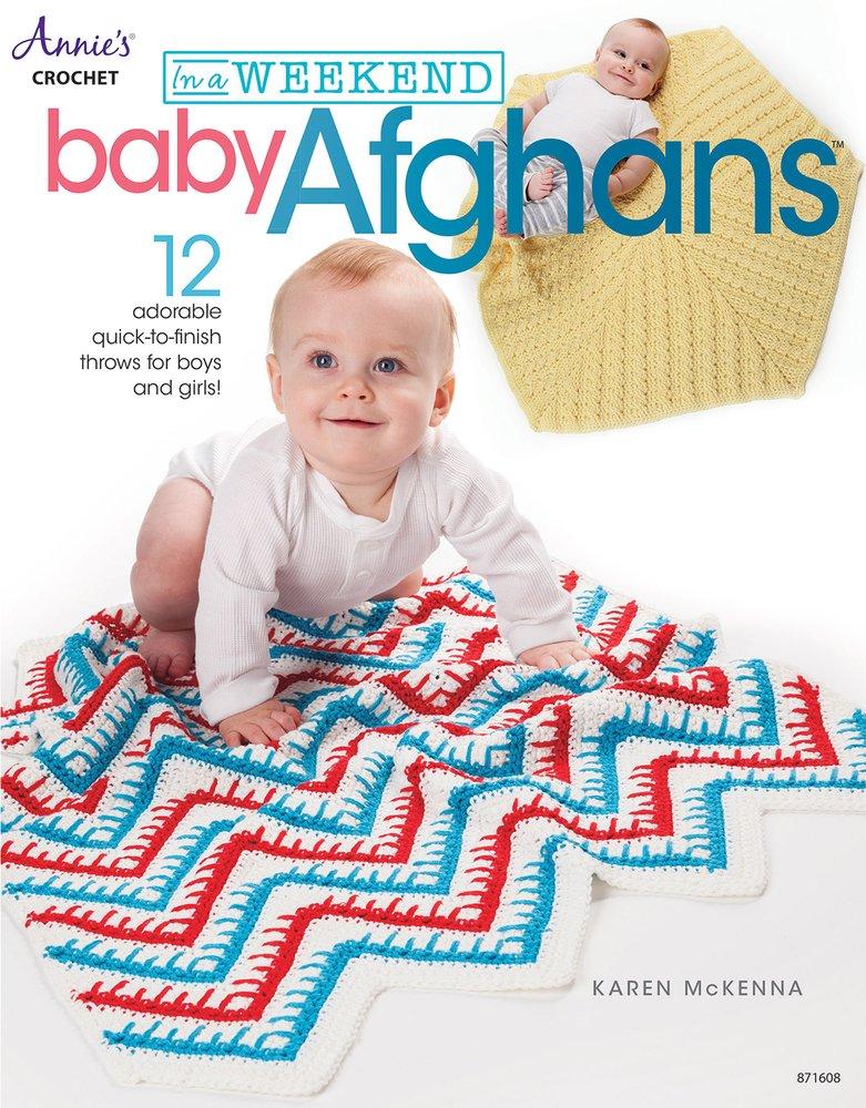 Annie's Crochet: In a Weekend Baby Afghans