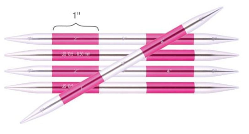 Knitter's Pride-SmartStix Double Pointed Needles 5