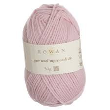 Pure Wool Worsted - Pretty Pink