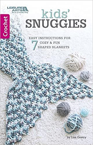 Kid's Snuggies  - Crochet