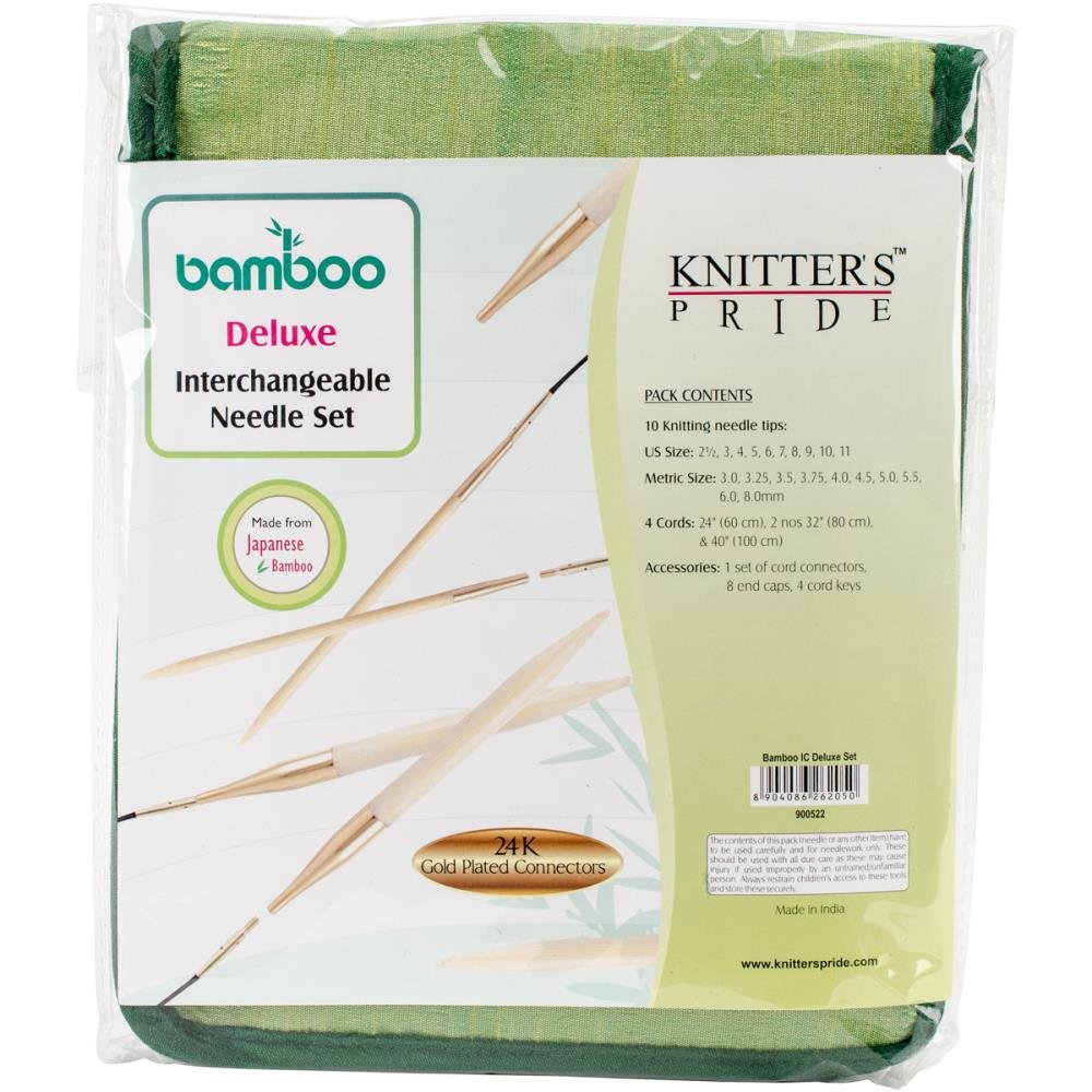 Knitter's Pride Bamboo Interchangeable Needles Sets