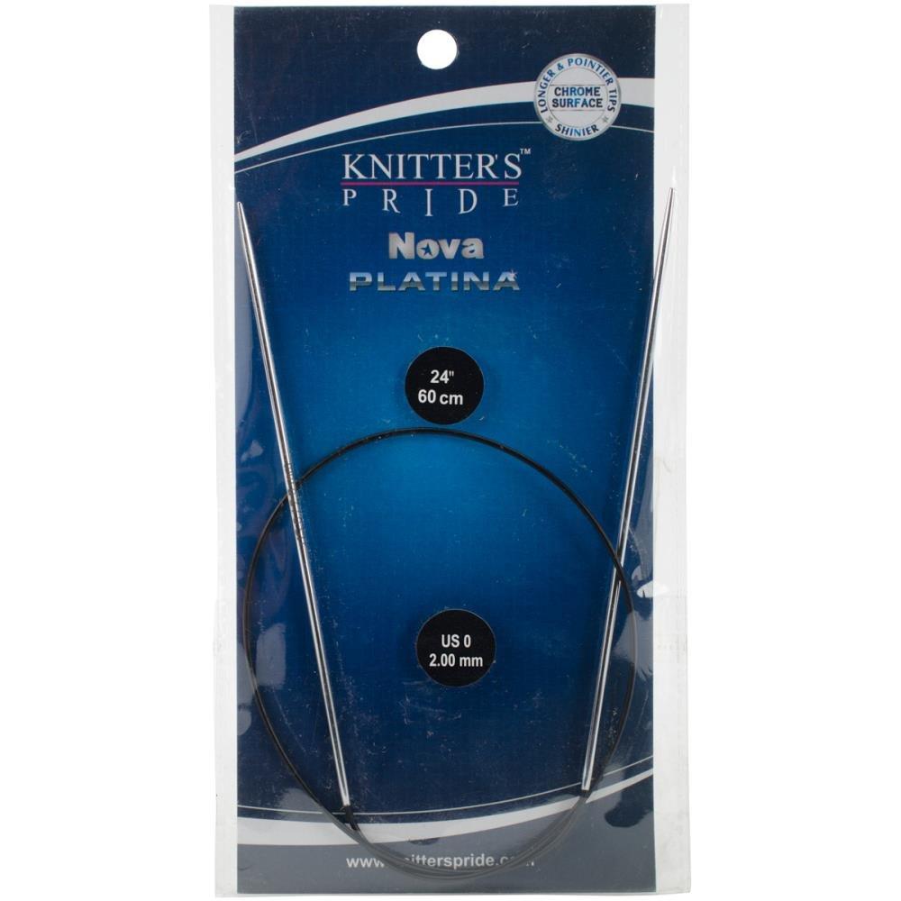 Knitter's Pride Nova Platina Fixed Circular Needles 24