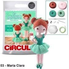 Circulo Cotton Amigurumi Kit - Ballet Dancer Maria Clara