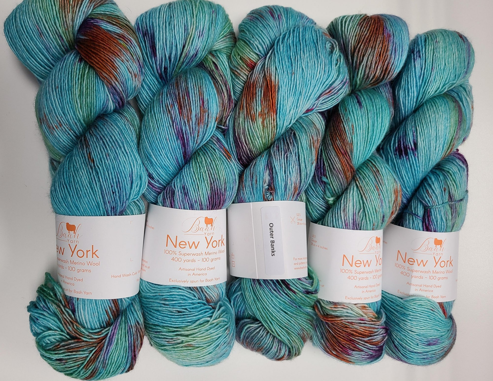 Y & M Signature Yarn  New York  - Color: Outer Banks