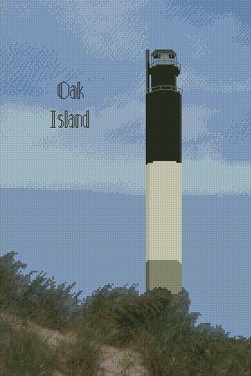 Oak Island Lighthouse 10x15 Kit