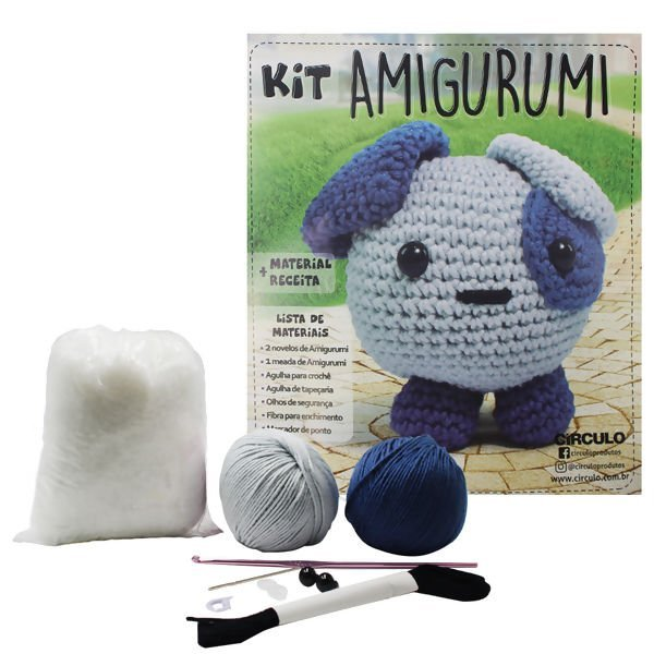 Circulo Cotton Amigurumi Kit - Puppy