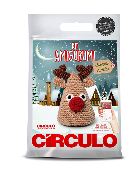Circulo Cotton Amigurumi Kit - Reindeer