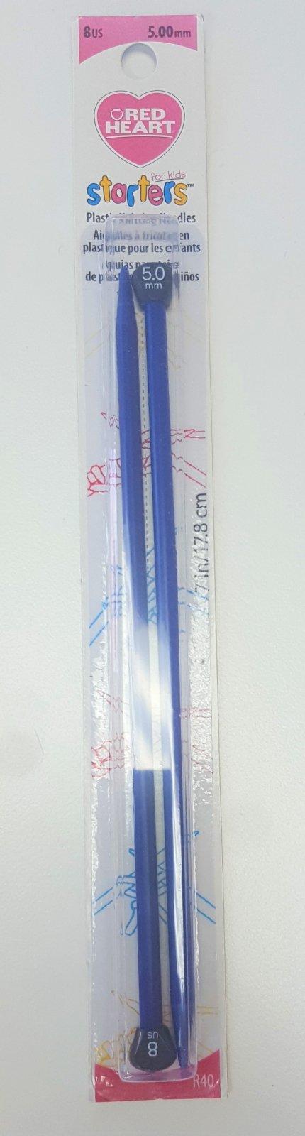 RH Starters Kids Knit Needles #8
